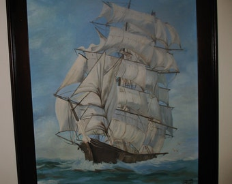 Sailing Ship from 1700's