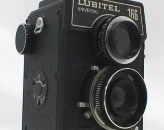 Vintage LUBITEL 166 TLR Camera - 402 B66