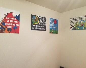 Dr. Seuss Paintings