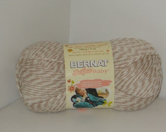 Bernat Softee Baby Yarn (Little Mouse Marl) 5oz/140g