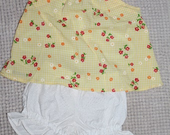 Girls Top & Bloomers Set - Size 1