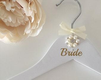 Bridal Party Personalised Coat Hangers