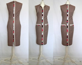 SALE Beautiful elegant, casual, colorful, pink, ivory, claret, gray pencil dress for you Size UK 10, 14 / US 6, 10