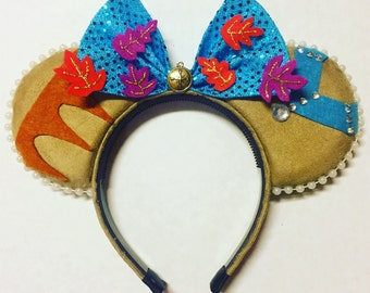 Indian Princess Mouse Ears - American Indian Mouse Ears - Wind Princess Mouse Ears