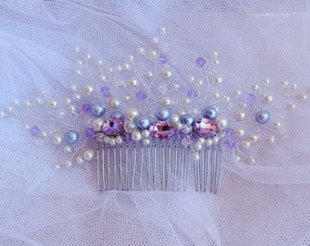 Wedding Hair Comb Bridal Hair Comb