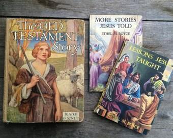 Vintage Biblical Story Books