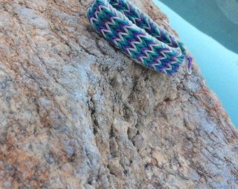 Rainbow loom bracelet: Waterfall