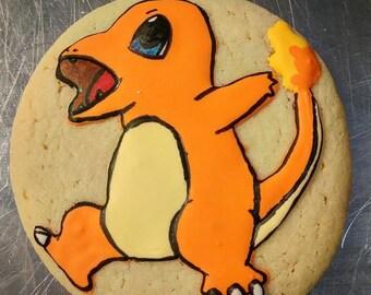 Charmander Cookie