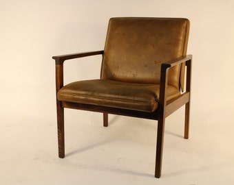 Vintage Walnut Chair