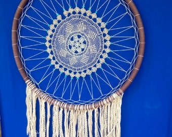 White Cloud Dream Catcher