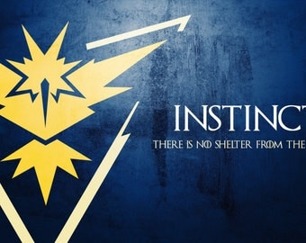 Team Instinct iPhone Case