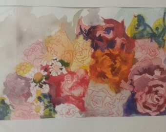 watercolor floral #1