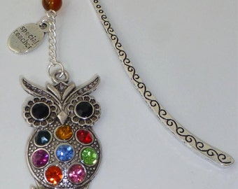 Special Teacher - Thank You - Owl Pendant Bookmark