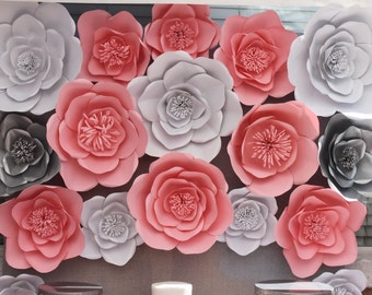 Large Pink Paper Flower Handmade Paper Flower