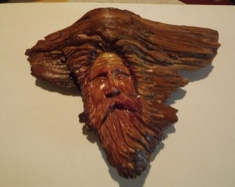 Hand carved woodspirit