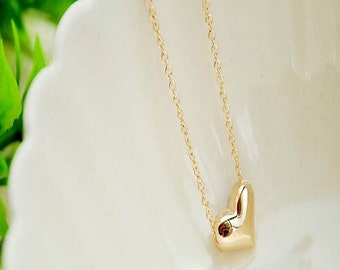 Simple Heart Necklace
