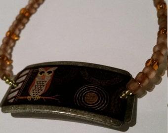 Hoot Owl bracelet
