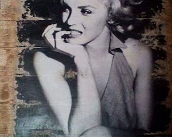 Marilyn Monroe wall art or clock