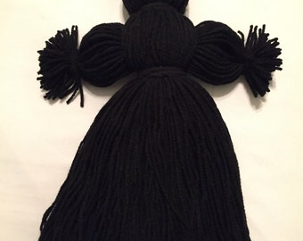 Yarn Doll. Handmade.