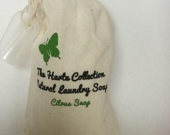 Citrus Snap Natural Laundry Soap