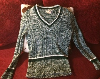 Women's retro sweater