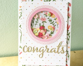 Birthday card, welcome baby card,baby shower card, card for kids, card for girls, card for baby, congratulation/congrats card, birthday gift