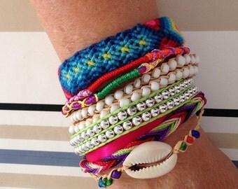 Bracelet brésilien typique du brésil tresse neuf