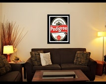 Marstons Pedigree Beer Ale Wall Art Poster - Framed or Unframed Options Available
