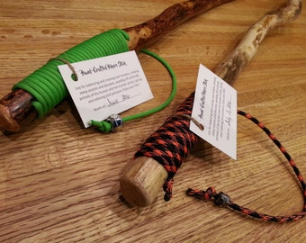 Hand-crafted Hiking Sticks