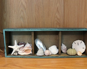 Shadow Box, Beach Decor, Home Decor, Beach Shadow Box, Wall Decor, Wall Hanging, Coastal Decor, Nautical Decor, Beach Art, Shell Art