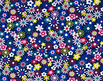 Flowers Aplenty Fabric by Michael Miller