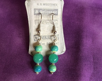 Blue Green Dangles