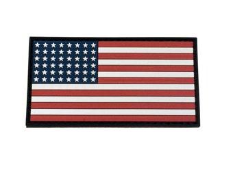 Tactical World War 2 USA Flag Velcro Patch