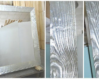 frame for a mirror and paintings