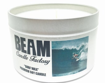 Surf Wax Soy Candle
