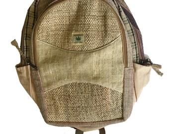 Ecofriendly green Hemp Backpack