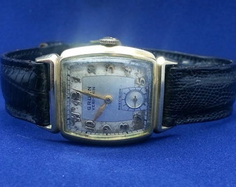 Gruen Ver-Thin Men's Wrist Watch circa 1940