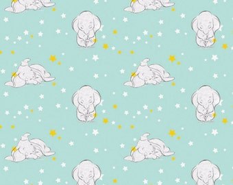 Disney Dumbo the Flying Elephant Starry Fabric From Springs Creative