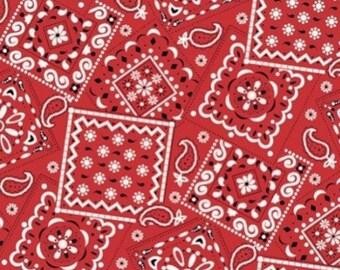 Bandana Red Fabric