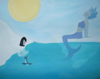 Joy; Antarctica Mermaid
