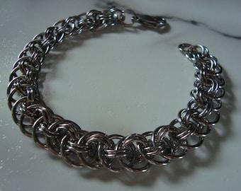 Men's, Viper Chain, Bracelet, Stainless Steel