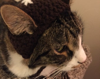Football cat hat