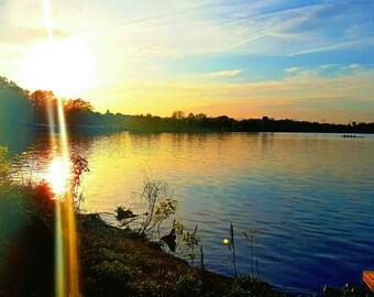 Sunset Photo - Wall Art - 24x36inch