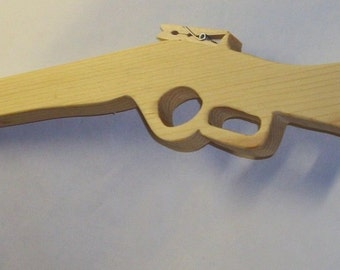 Toy Wooden Rubber Band Gun - Winchester Rifle