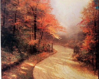 oil painting on canvas The Fall