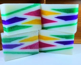 Geometric Neon Soap