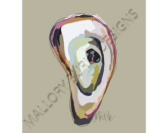 Oyster Print II