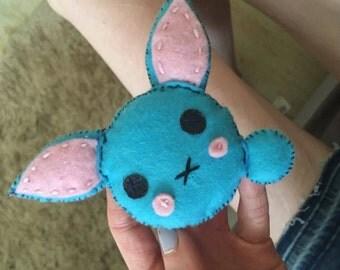 Felt Bunny Plush