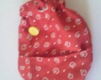 Cute orange fish purse