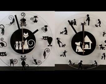 Char or dog clocks